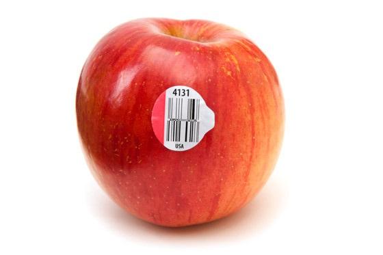 فروش برچسب های روی میوه