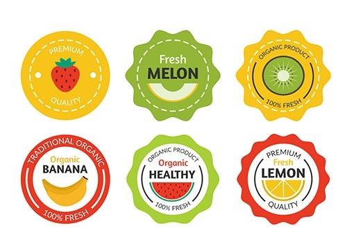 عرضه کننده انواع لیبل میوه